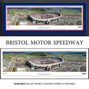Bristol Motor Speedway (Day) Framed Nascar Track Panoramic
