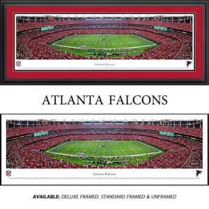 Atlanta Falcons Framed Stadium Panoramic