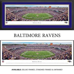 Baltimore Ravens Framed Stadium Panoramic