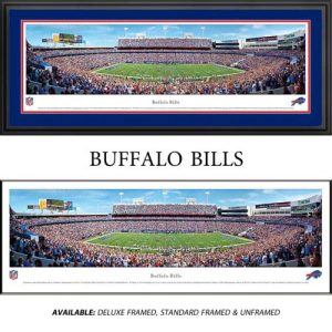 Buffalo Bills Framed Stadium Panoramic
