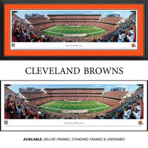 Cleveland Browns Framed Stadium Panoramic