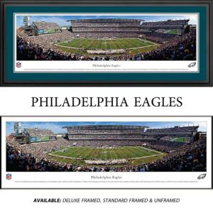Philadelphia Eagles Framed Stadium Panoramic