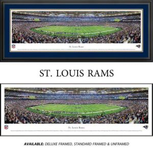 St. Louis Rams Framed Stadium Panoramic