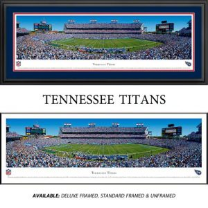 Tennessee Titans Framed Stadium Panoramic
