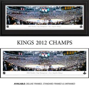 Los Angeles Kings (2012 Stanley Cup Champions) Framed Stadium Panoramic