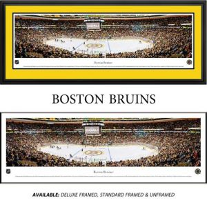 Boston Bruins Framed Stadium Panoramic