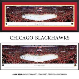 Chicago Blackhawks Framed Stadium Panoramic