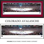 Colorado Avalanche Framed Stadium Panoramic