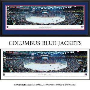 Columbus Blue Jackets Framed Stadium Panoramic