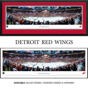 Detroit Red Wings Framed Stadium Panoramic