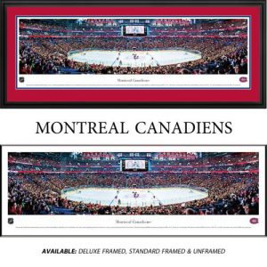 Montreal Canadiens Framed Stadium Panoramic