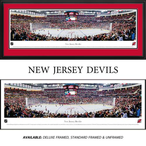 New Jersey Devils Framed Stadium Panoramic
