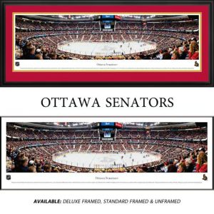 Ottawa Senators Framed Stadium Panoramic