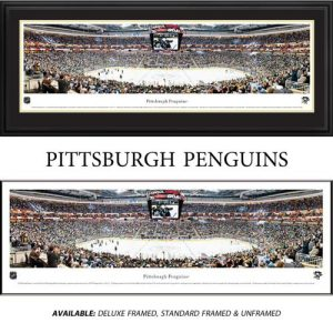 Pittsburgh Penguins Framed Stadium Panoramic