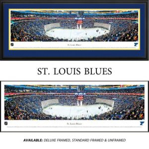 St. Louis Blues Framed Stadium Panoramic