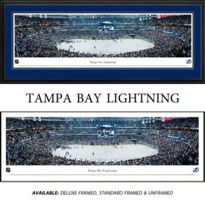 Tampa Bay Lightning Framed Stadium Panoramic
