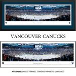 Vancouver Canucks Framed Stadium Panoramic