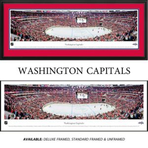 Washington Capitals Framed Stadium Panoramic