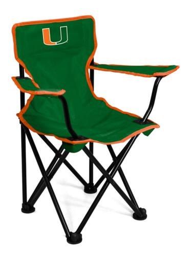 Miami Hurricanes Toddler Tailgating Chair
