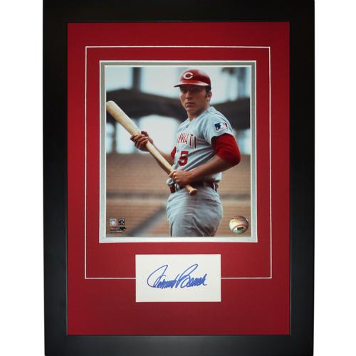 "Johnny Bench Autographed Cincinnati Reds ""Signature Series"" Frame"