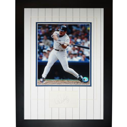 Wade Boggs Autographed New York Yankees Signature Series Frame