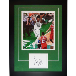 """Al Horford Autographed Boston Celtics """"Signature Series"""" Frame.  100.00 Add  to cart · Bill Russell Autographed Boston Celtics (Green  6) Deluxe ... 6a5a9525a"""