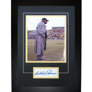 "Eddie Robinson Autographed Grambling University ""Signature Series"" Frame"