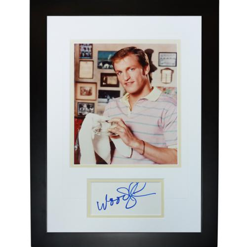 Woody Harrelson Autographed Cheers (TV) \