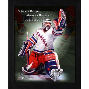 "Mike Richter New York Rangers Framed 11x14 ""Pro Quote"""