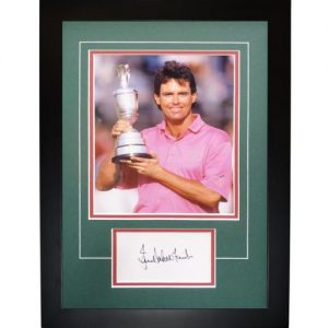 "Ian Baker-Finch Autographed 1991 British Open (Trophy) ""Signature Series"" Frame"