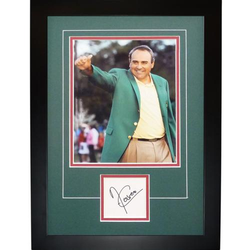 "Angel Cabrera Autographed 2009 Masters (Green Jacket) ""Signature Series"" Frame"