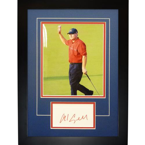 "Chad Campbell Autographed 2008 Ryder Cup (Team USA)  ""Signature Series"" Frame"