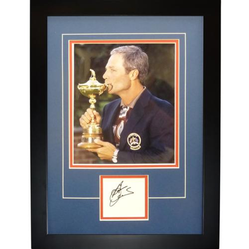 "Ben Crenshaw Autographed 1999 Ryder Cup (Team USA)  (Captain Trophy) ""Signature Series"" Frame"
