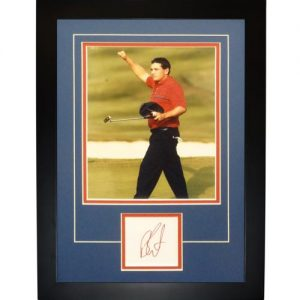 "Ben Curtis Autographed 2008 Ryder Cup (Team USA)  ""Signature Series"" Frame"