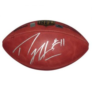 Percy Harvin Autographed NFL (Duke) Game Football - Harvin Holo