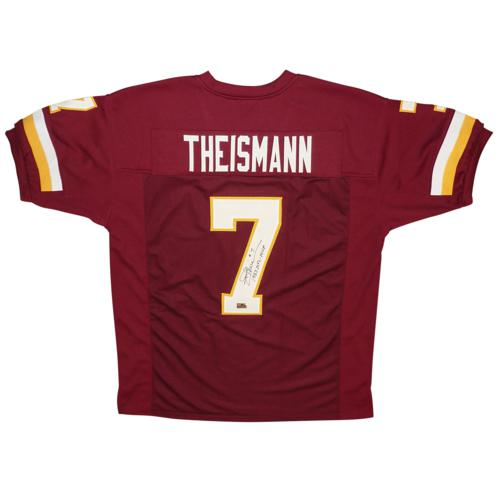 "Joe Theismann Autographed Washington Redskins (Red #7) Jersey w/ ""1983 NFL MVP"""