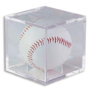 BallQube Baseball Display Cube