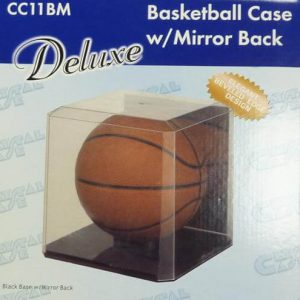 ProTech Basketball Economy Display Case - Mirror Back w/ Nameplate