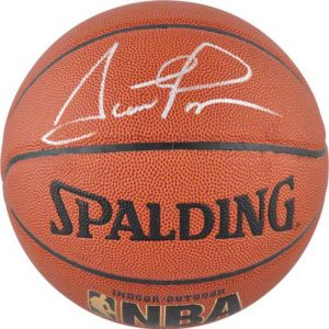 Scottie Pippen Autographed (Chicago Bulls) NBA I/O Basketball - JSA
