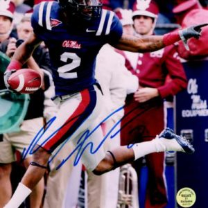Mike Wallace Autographed Ole Miss Rebels 8x10 Photo - MW Holo