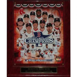 Boston Red Sox 2013 World Series Champions (Collage) Licensed 8x10 Photo Plaque