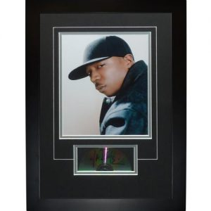 "Ja Rule Autographed Music (CD) ""Signature Series"" Frame"