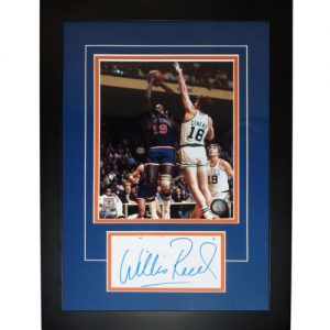 "Willis Reed Autographed New York Knicks ""Signature Series"" Frame"