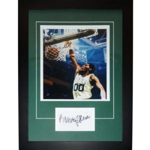 "Robert Parish Autographed Boston Celtics ""Signature Series"" Frame"