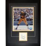 "Willie Stargell Autographed Pittsburgh Pirates ""Signature Series"" Frame"