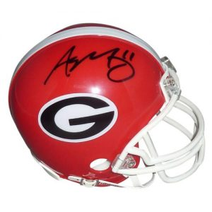 Aaron Murray Autographed Georgia Bulldogs Mini Helmet