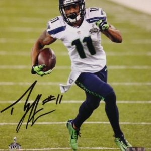 Percy Harvin Autographed Seattle Seahawks (SB XLVIII Return TD) 8x10 Photo