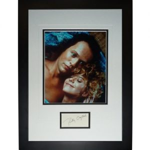 """Billy Crystal Autographed When Harry Met Sally (Movie) """"Signature Series"""" Frame"""