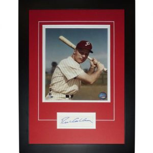 "Richie Ashburn Autographed Philadelphia Phillies ""Signature Series"" Frame"