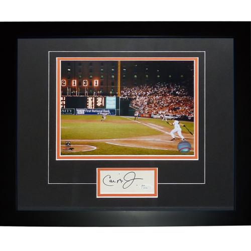 "Cal Ripken Jr. Autographed Baltimore Orioles (2131 Game) ""Signature Series"" Frame"